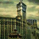 Michigan Avenue Afternoon by RC deWinter