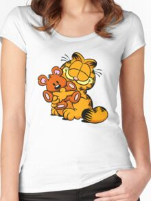 garfield Women's Fitted Scoop T-Shirt