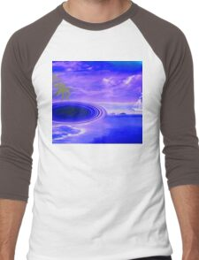 Islands in the stream-  Art + Products Design  Men's Baseball ¾ T-Shirt