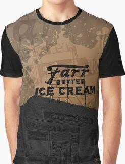 Ice Cream Shop Graphic T-Shirt