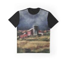 Fall Night at the Farm Graphic T-Shirt