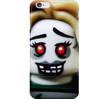The Zombie Cheerleader minifigure iPhone Case/Skin