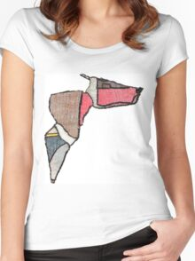 027 Women's Fitted Scoop T-Shirt