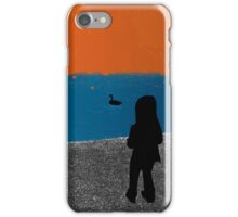 Girl and the Geese 2012 iPhone Case/Skin