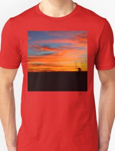 sky at sunset and shadow T-Shirt