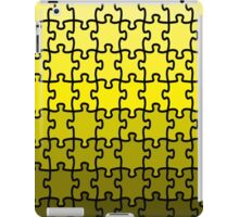 Yellow Puzzle iPad Case/Skin