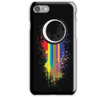 Abstract Spray iPhone Case/Skin