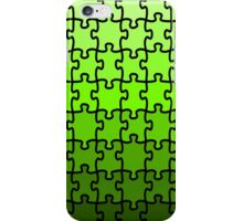 Green Puzzle iPhone Case/Skin