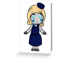 Doll Chibi Greeting Card