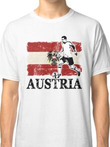 Soccer - Fußball - Austria Flag Classic T-Shirt