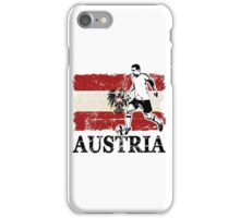 Soccer - Fußball - Austria Flag iPhone Case/Skin