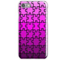 Purple Puzzle iPhone Case/Skin