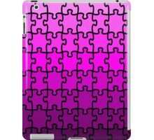 Purple Puzzle iPad Case/Skin