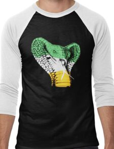 The Viper! Irish Flag Edition Men's Baseball ¾ T-Shirt