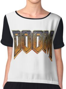 Doom Chiffon Top