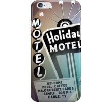 Vegas Motel iPhone Case/Skin