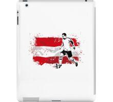 Soccer - Fußball - Austria Flag iPad Case/Skin