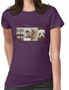 The cute crew Womens Fitted T-Shirt