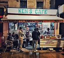 Ken's Cafe (famous West Ham eaterie) by Alastair McKay