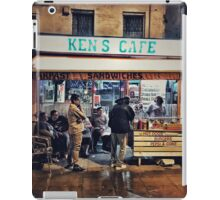 Ken's Cafe (famous West Ham eaterie) iPad Case/Skin