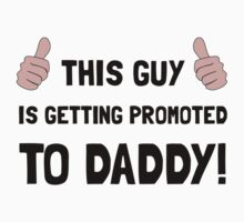Promoted To Daddy Kids Tee