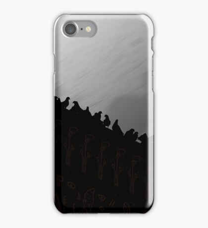 Pigeons On The Egypt 2011 iPhone Case/Skin