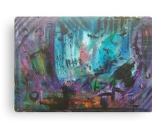 Abstract Markmaking Canvas Print