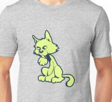 Lime cat Unisex T-Shirt