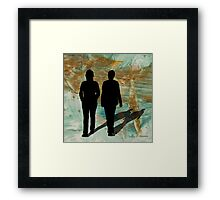 On a Walk Framed Print