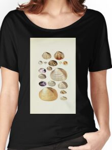 Thesaurus conchyliorum Monographs of genera of shells George Brettingham Sowerby 1887 V1-V5 153 Women's Relaxed Fit T-Shirt