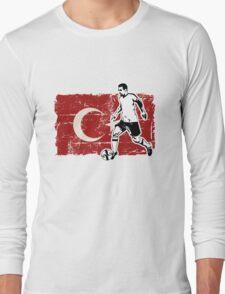 Soccer - Fußball - Turkey Flag Long Sleeve T-Shirt