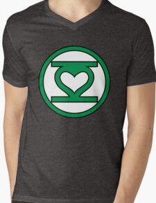 Lantern Love Mens V-Neck T-Shirt