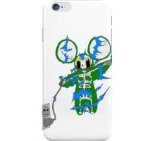 souris verte electrocuté iPhone Case/Skin