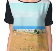 Newport Beach Chiffon Top