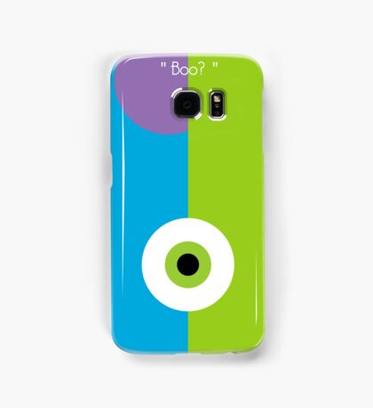 Minimalist Flat Monster Samsung Galaxy Case/Skin