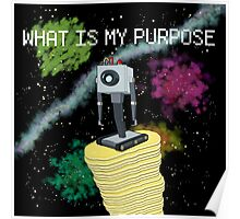 WHAT IS MY PURPOSE Poster