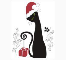 Christmas cat One Piece - Short Sleeve