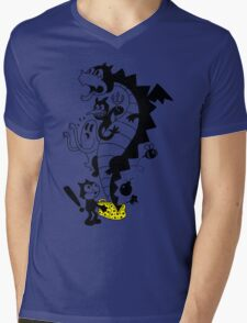 Creatures From The Magic Bag Mens V-Neck T-Shirt