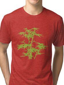 Green herb Tri-blend T-Shirt