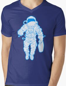 Daily Commute Astronaut Mens V-Neck T-Shirt