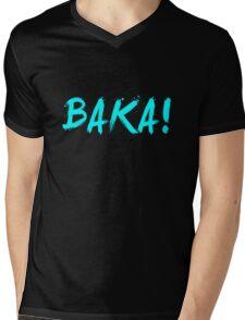 Baka! Anime Manga Shirt Mens V-Neck T-Shirt