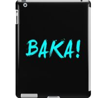 Baka! Anime Manga Shirt iPad Case/Skin
