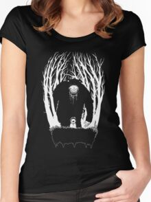 The Dangerous Bear Women's Fitted Scoop T-Shirt