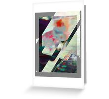 Water Lilies Interference Greeting Card