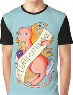 #151 Mew - A Playful Little God  Graphic T-Shirt