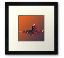 The Landing Plane 2012 Framed Print