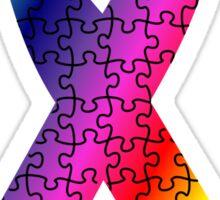 Autism Awareness Ribbon Sticker