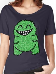 Fuzzy Bud Green Women's Relaxed Fit T-Shirt