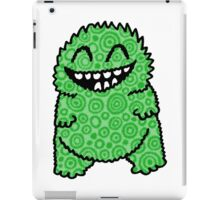 Fuzzy Bud Green iPad Case/Skin