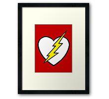 Racing Heart Framed Print